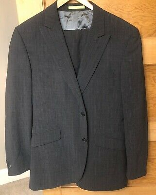 Limehaus Double Breasted Suit, Jacket 40R, Trousers 34W x 32L