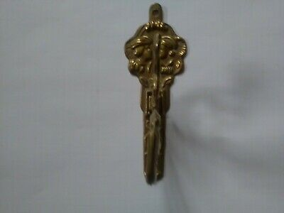 Brass Antique Hardware Classical Vintage Bath Robe Coat Hook Towel Hanger