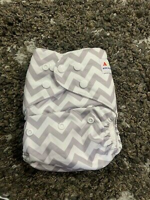 Alva Baby Reusable Cloth Diapers One Size Washable 2 Cloth Pocket Inserts