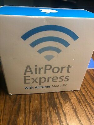Apple Airport Express 54 Mbps Wireless N Base Station - White