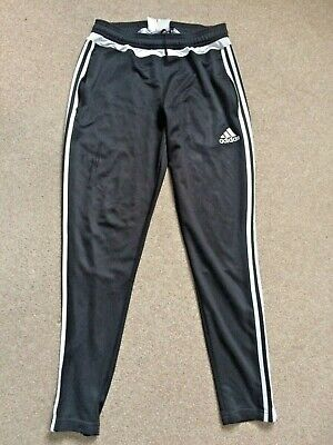 Adidas Black Climacool Track Suit Bottoms / Joggers Medium