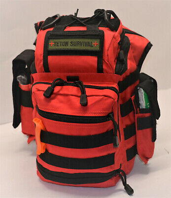 Standard- Large First Aid Kit (LFAK) Tactical Trauma Survival Bag - Stocked