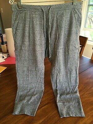 Eileen Fisher Project womens xs lounge/workout slouchy pants gray cotton
