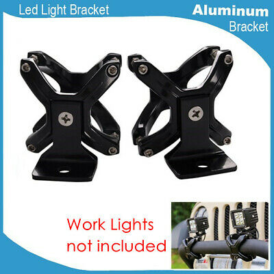 "2x 2""-3"" Bull Bar/Grille Guard/Rack Mounting Bracket For Cross Country Lights"
