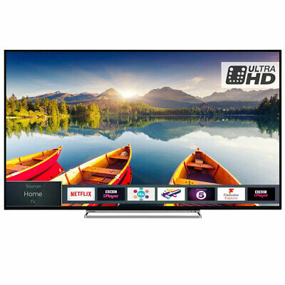 Toshiba 49U6863DB 49 Inch Smart 4K Ultra HD LED TV HDR Freeview HD C Grade