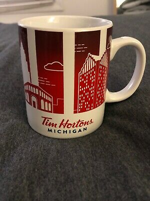 Tim Hortons Limited Edition Traveler's Collection, Series 1: Detroit, Michigan