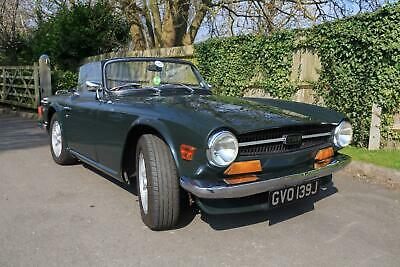 Triumph TR6 - Solid Example, New Chassis & Rebuilt Engine