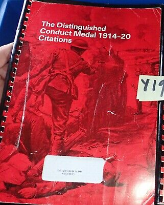 The DCM 1914 1920 Citations for the Northumberland Fusiliers