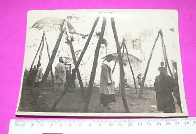 ww1 Photo Hanging of spies RARE photo from Australian Light horse regiment