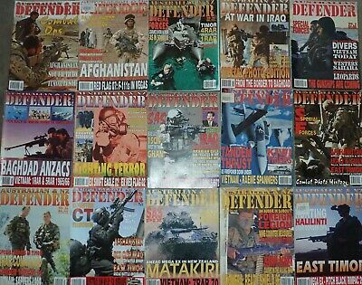 44 issues Australian Defender and Australian and NZ defender magazine