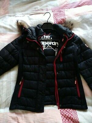 SUPERDRY DAMEN WINTERJACKE Modell Fuji Slim Double Zip