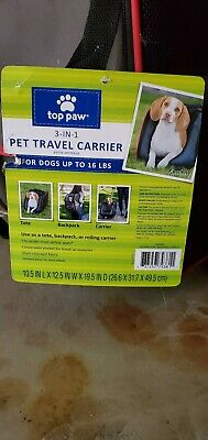 Top Paw Pet travel Carrier - Great Condition!!! slightly used