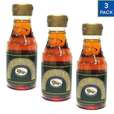3 x 454g Lyle's Golden Syrup Breakfast Pancake Natural Sweetener FREE NEXT DAY
