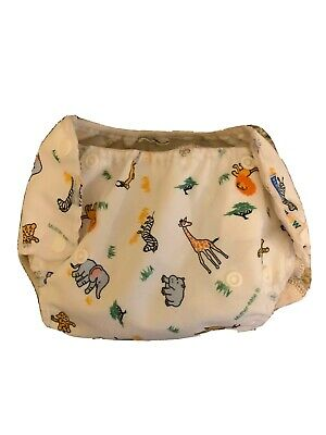 2 Mother ease Organic fitted cloth diapers, 9 Inserts And 8 Diaper Covers