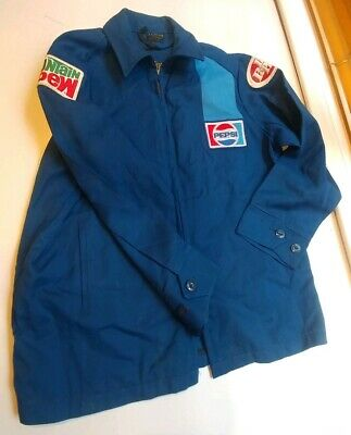 Vintage Pepsi Dr Pepper Mountain Dew 1950'S Jacket Unitog Two Toned