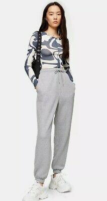 Topshop Grey Oversized Joggers Uk Size Small- Worn Once