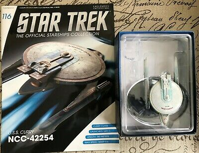Eaglemoss Star Trek Official Collection U.S.S. Curry NCC-42254 & Magazine #116