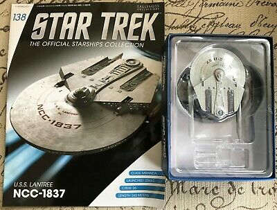 Eaglemoss Star Trek Official Collection U.S.S. Lantree NCC-1837 & Magazine #138
