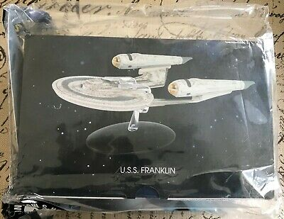 Eaglemoss Star Trek Official Collection U.S.S. Franklin & Magazine