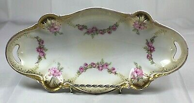 Antique RS Prussia Relish Dish