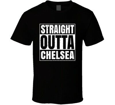 Straight Outta Chelsea Oklahoma City Compton Parody Grunge T Shirt