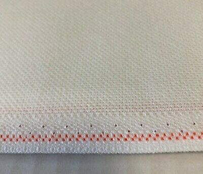 22 count Zweigart Sulta Hardanger White Evenweave Aida Cloth - Choose your size