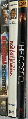 Lot Of 3 Assorted **Mix Genre** DVD Movies Good Condition