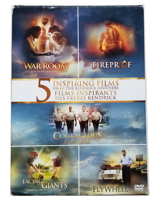 5 Inspiring Films From The Kendrick Brothers 5 Dvd New & Sealed Fast Shipping