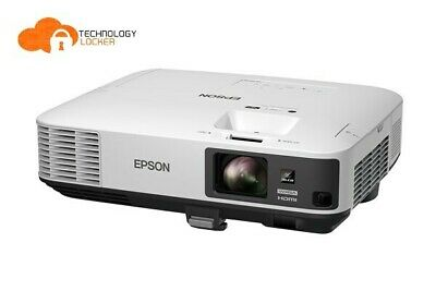 Epson EB-2165W Lamp Hours 5000 WXGA 5500 lumens 1871 hrs used LCD Projector w/ r