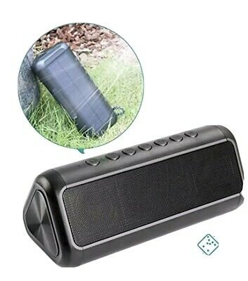 Elzle BO-JDC01 Portable Bluetooth Speaker - Black