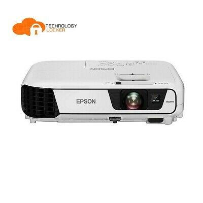Epson EB-X31 Lamp Hours 5000 1394 hrs Used 3200 Lumens LCD Projector w/ remote
