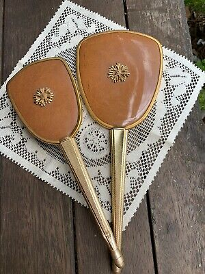 Vintage Antique Brush n Mirror Set