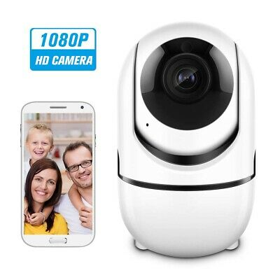 WIFI FHD 1080P Wireless IP Kamera CCTV Baby Monitor Tracking Voice Alarm H9Q4