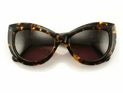 Excellent Condition WILDFOX Couture Kitten Cateye Sunglasses Tortoise