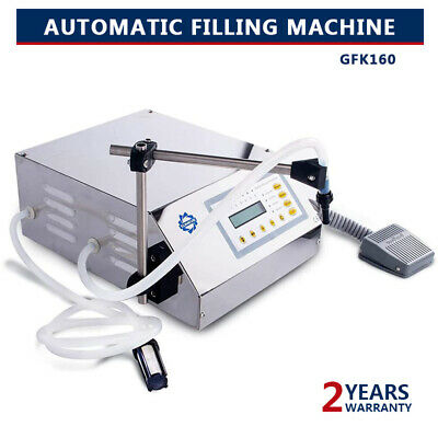 New Liquid&Oil  Filling Machine Automatic Digital Control Bottle Filler 2-3500ml