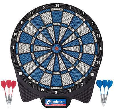 Unicorn Soft Tip Dart Board Game With 2 Sets of Darts ✅ FREE UK SHIPPING ✅