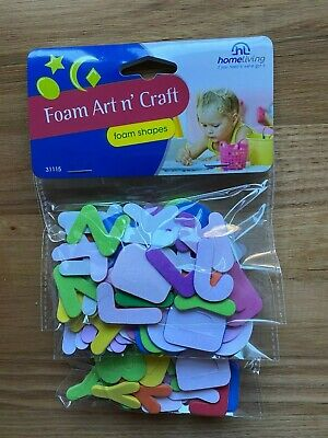 Kids home from School? 100+ Foam Alphabet Letters - no boredom here!