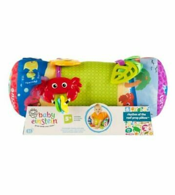 Baby Einstein Rhythm of the Reef Prop Pillow Baby Tummy Time Activity Toy NEW