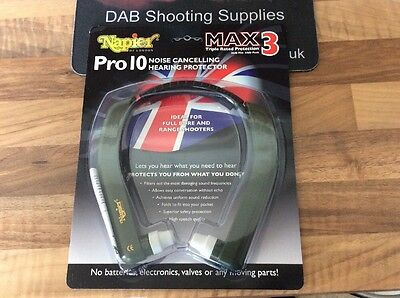 Napier Case for Pro 9 /& Pro 10 Max 3 Hearing Protectors Defenders Muffs