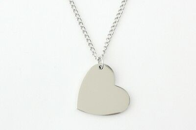 Personalised Heart Necklace with Gift Box