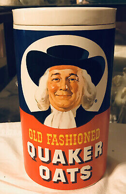 Quaker Oats Oatmeal Cookie Canister