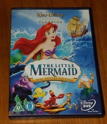 The Little Mermaid ( Disney DVD ) 2-Disc Special Edition / Kids Movie