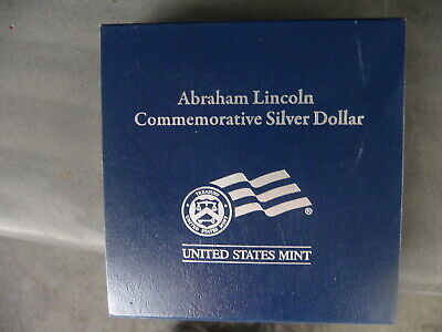 2009 P Abraham Lincoln Commemorative silver proof dollar (LN7)  b
