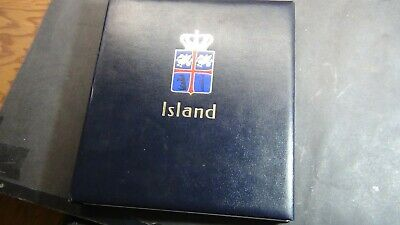 Iceland stamp collection in Davo Hingeless album w/est. 886 or so w/ high values