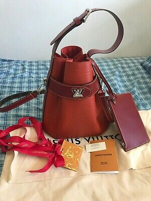 Authentic Louis Vuitton Epi Twist Bucket Bag