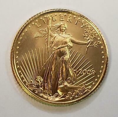 Year-2000 US 1/10th oz GOLD $5 Eagle Coin BU++       L6667