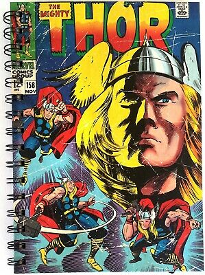 The Mighty Thor - Retro Marvel Comics A5 Spiral Notebook! Officially licensed