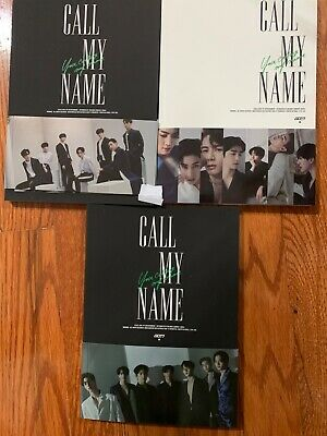 GOT7 10th MINI ALBUM CALL MY NAME[no photocard][free folded poster included]