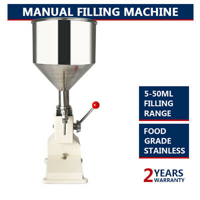 New Filling Machine Filling 5-50ml Filling Bottler Water Filler With Parts A03