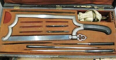 A French Amputation Set With Two Small Bullet's Extractors, France, Circa 1830